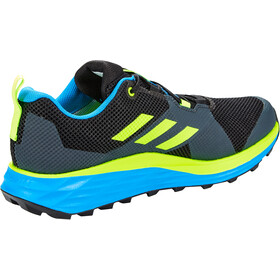 adidas TERREX Two Gore-Tex Trail Running Shoes Men core black/signal green/brblue